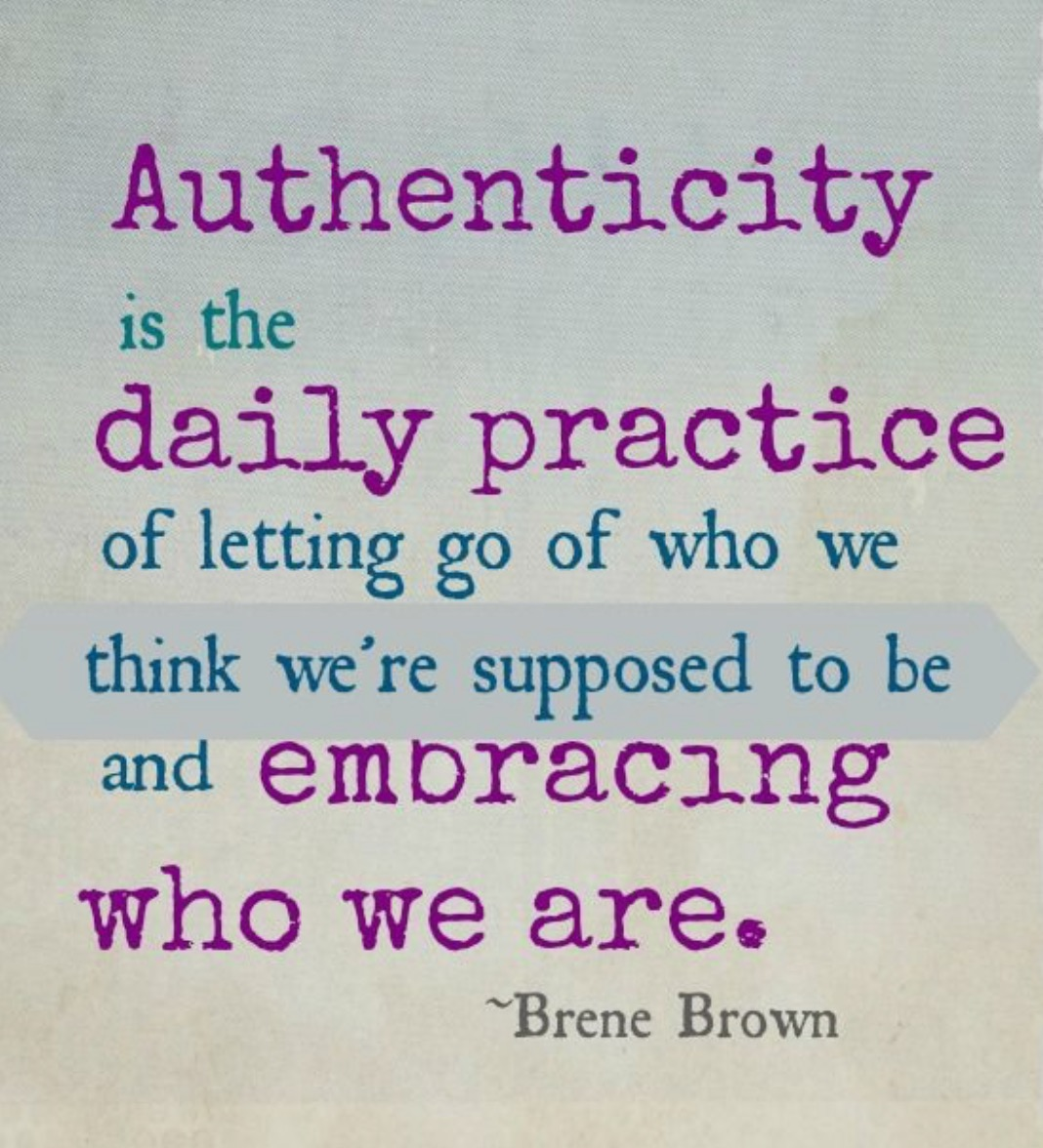 Project Share Day 15: Authenticity