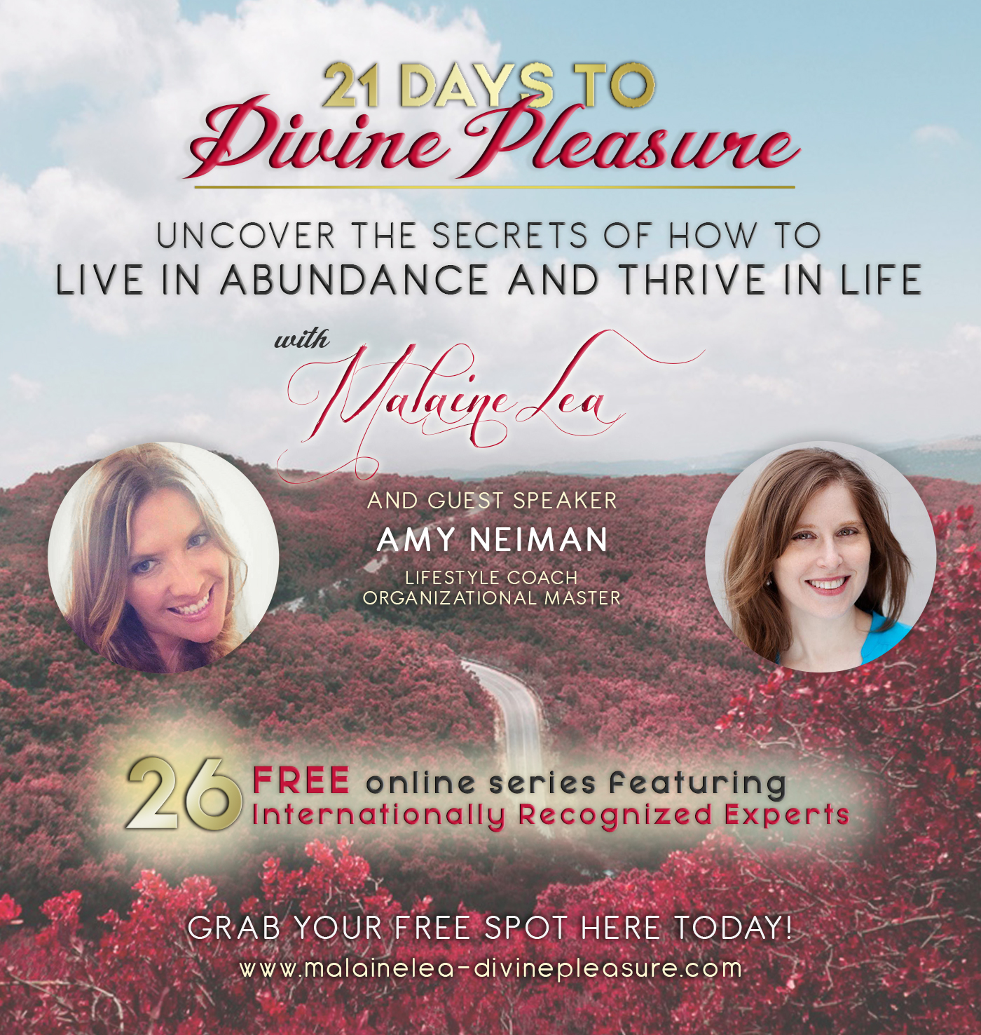 21 Days to Divine Pleasure: starts November 4, 2016